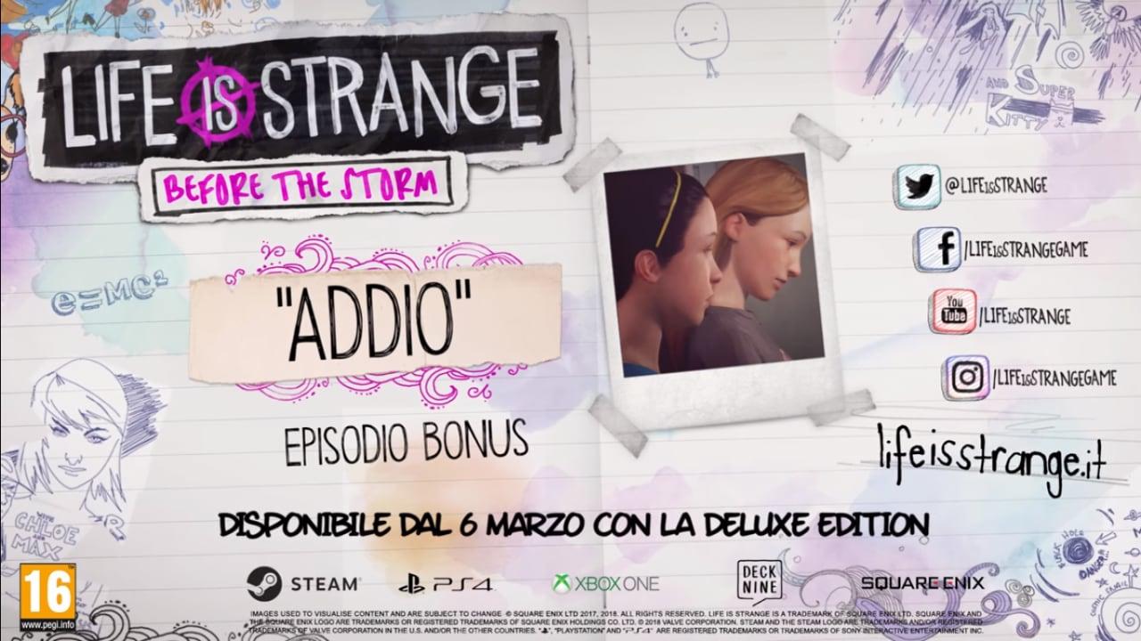 """La prima stagione di Life Is Strange si conclude (davvero?) con """"Addio"""""""