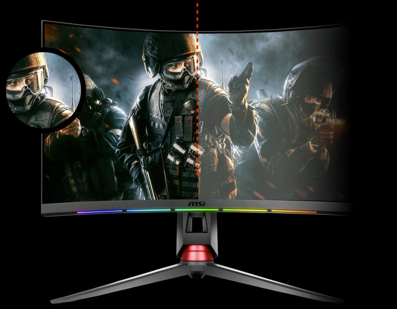 I monitor MSI e SteelSeries hanno delle barre RGB che servono davvero a qualcosa! (foto)