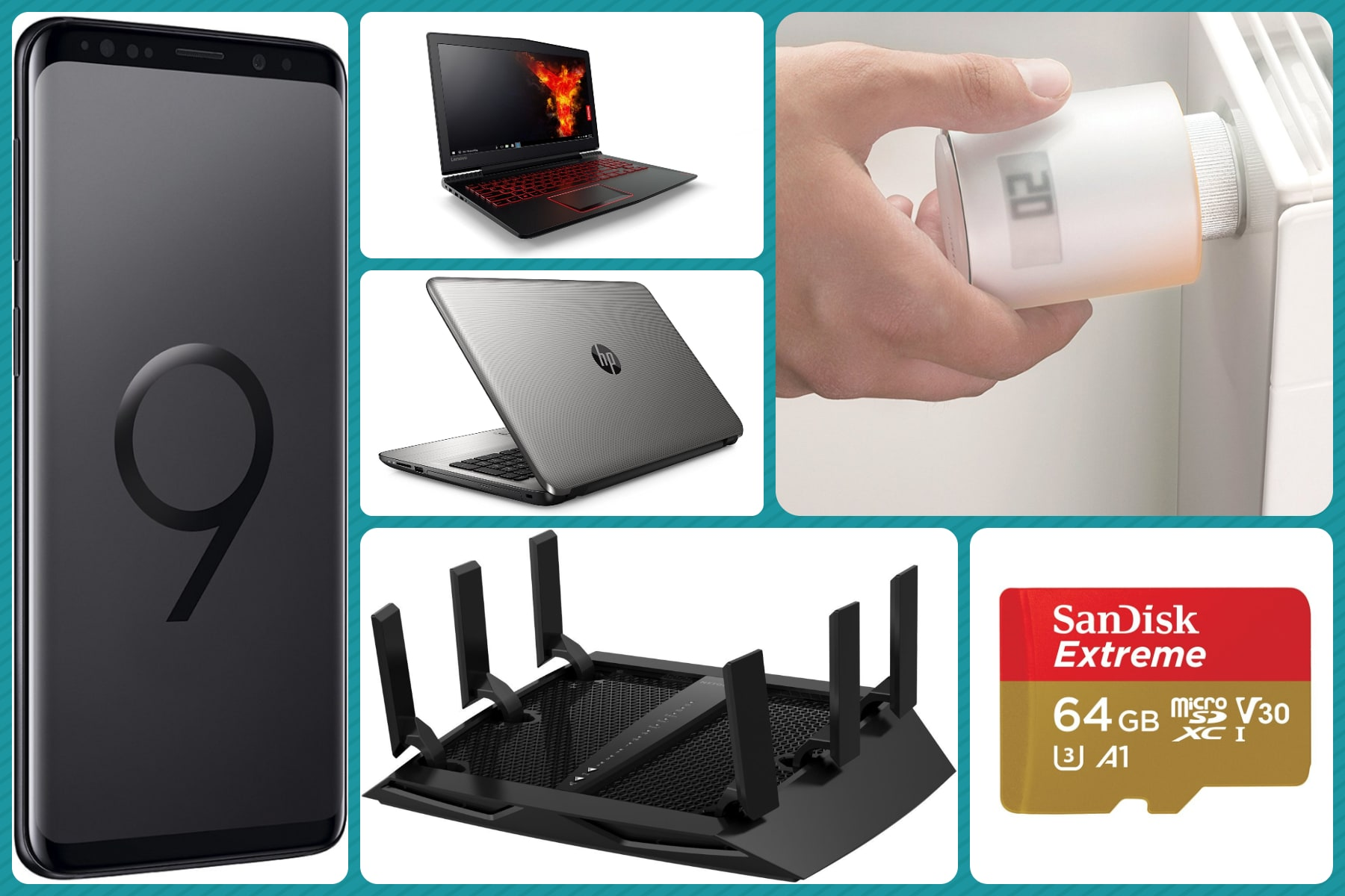 Su Amazon in offerta: Galaxy S9, power bank wireless, Hero Session, cuffie gaming - image Migliori-offerte-Amazon-20-marzo-2018 on http://www.zxbyte.com