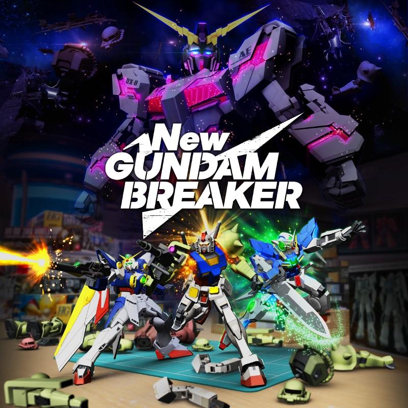 Nuovo trailer e data di uscita per NEW GUNDAM BREAKER! (foto e video)
