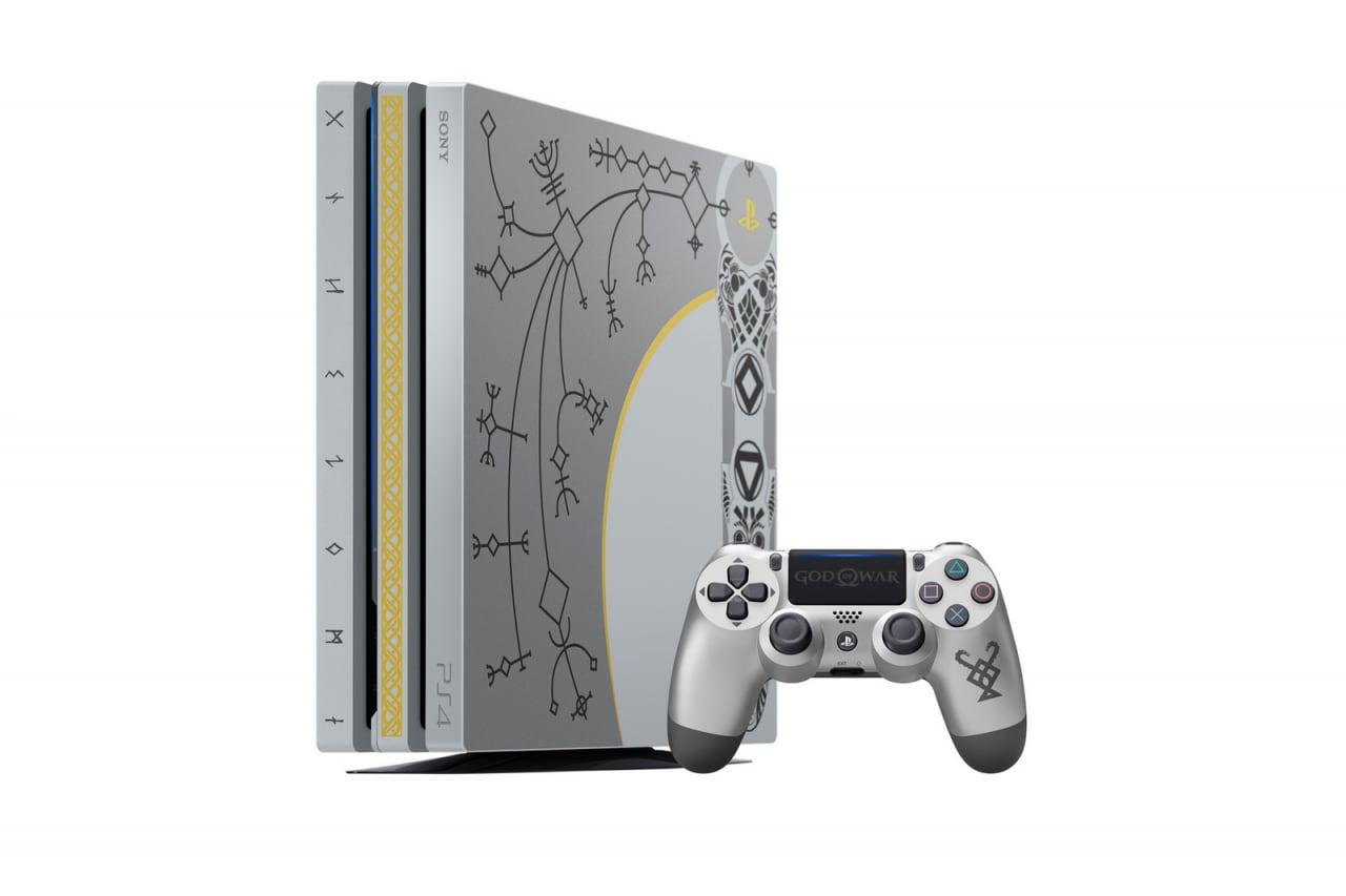 Questa è la PS4 Pro a tema God Of War. Quanto è bella? (foto)