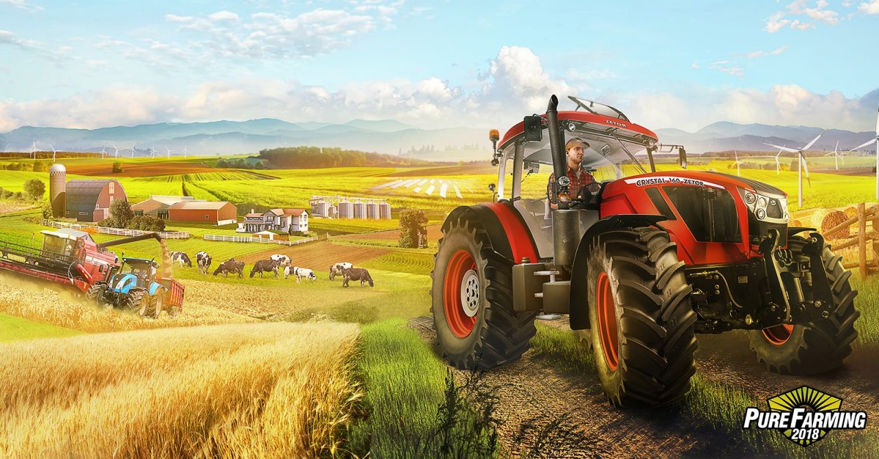 Cosa rende grandiosa una fattoria? Risponde Pure Farming 2018