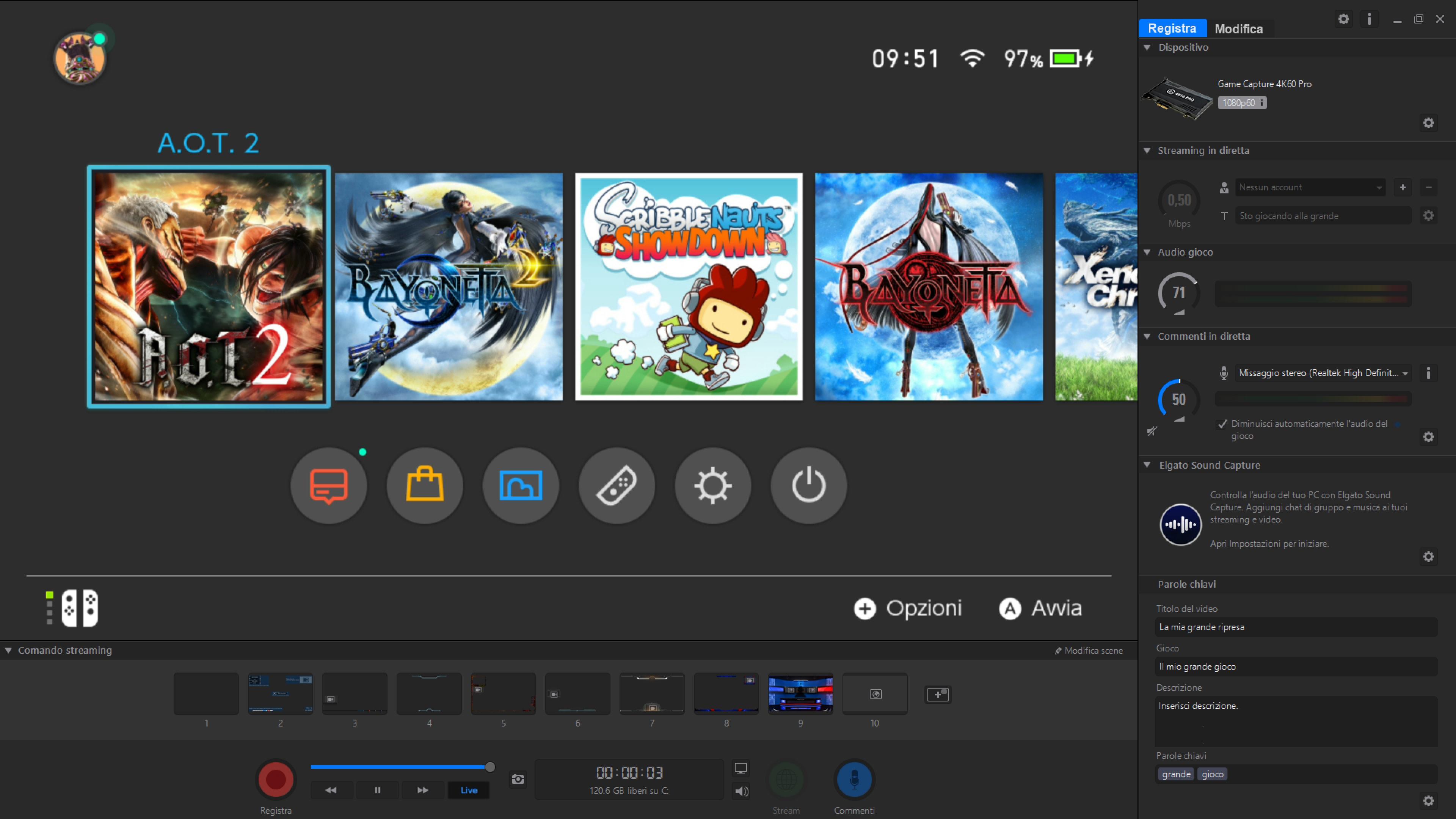 Recensione Elgato Game Capture 4K60 Pro – Software (1)