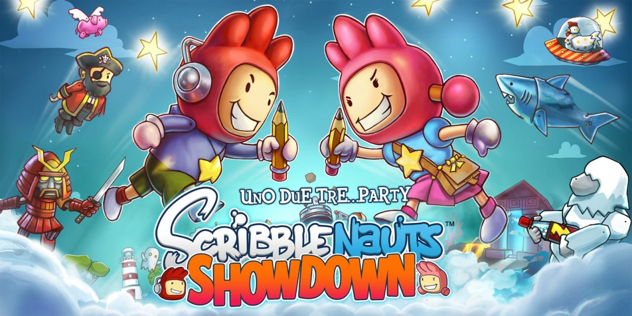 Scribblenauts Showdown: la creatività infinita nel trailer di lancio