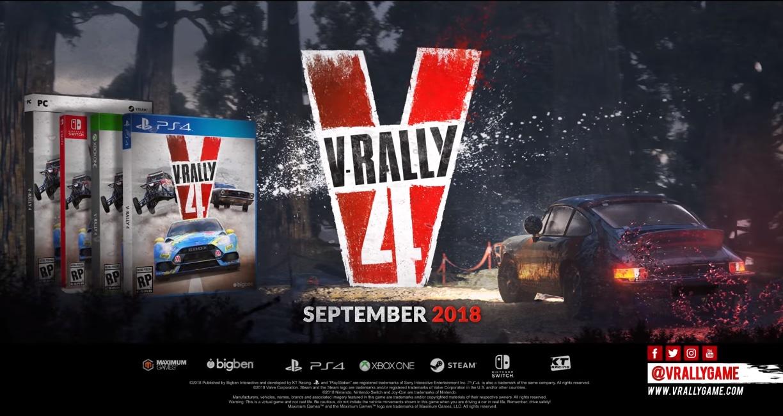 Annunciato V-Rally 4: ecco il primissimo trailer