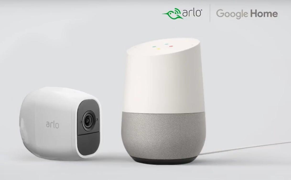 Le videocamere Arlo da ora supportano ufficialmente Google Assistant