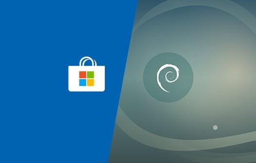 Debian GNU/Linux ora disponibile sul Microsoft Store per Windows 10