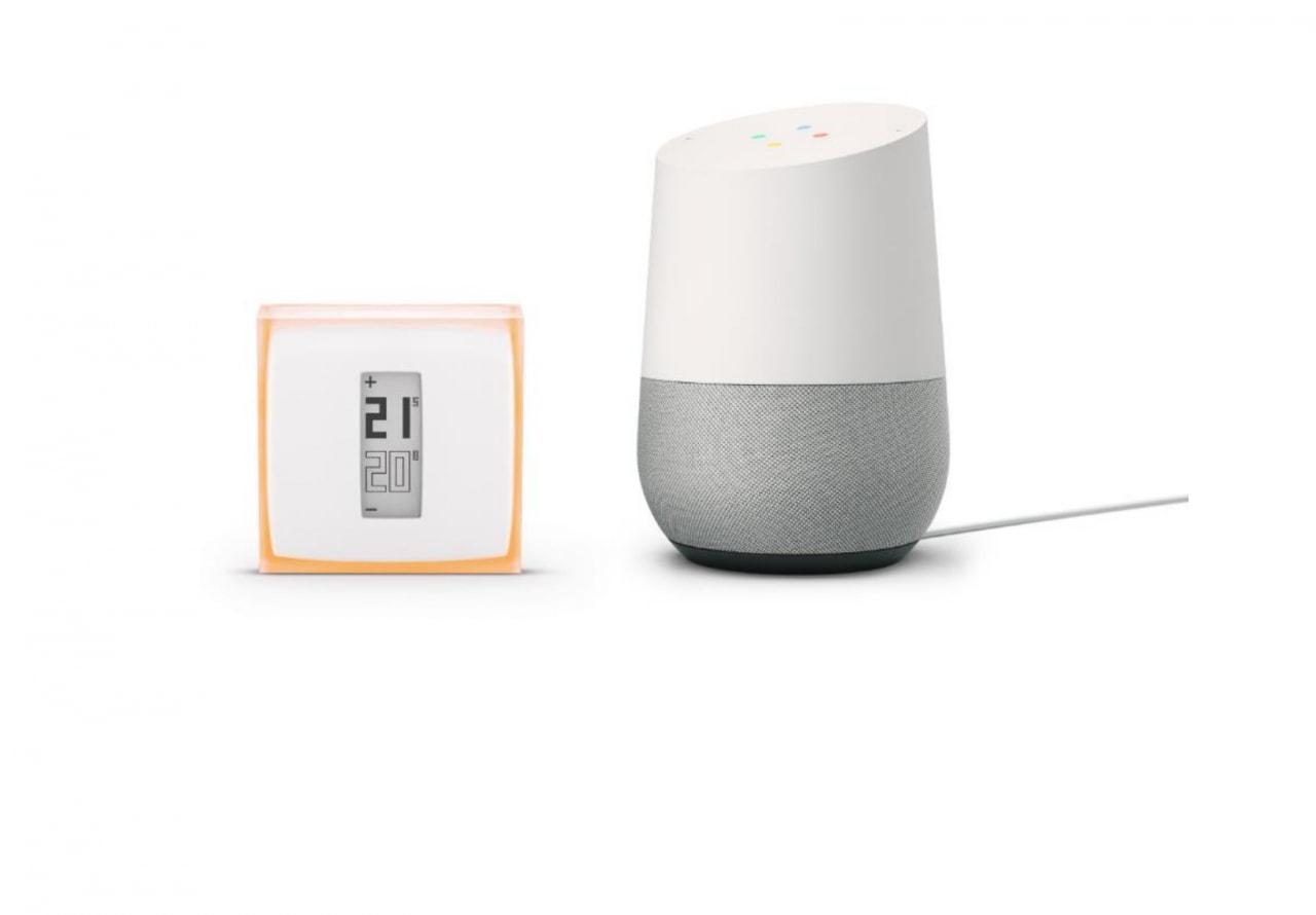 Google home e netatmo adesso potete parlare al termostato for Valvole termostatiche netatmo