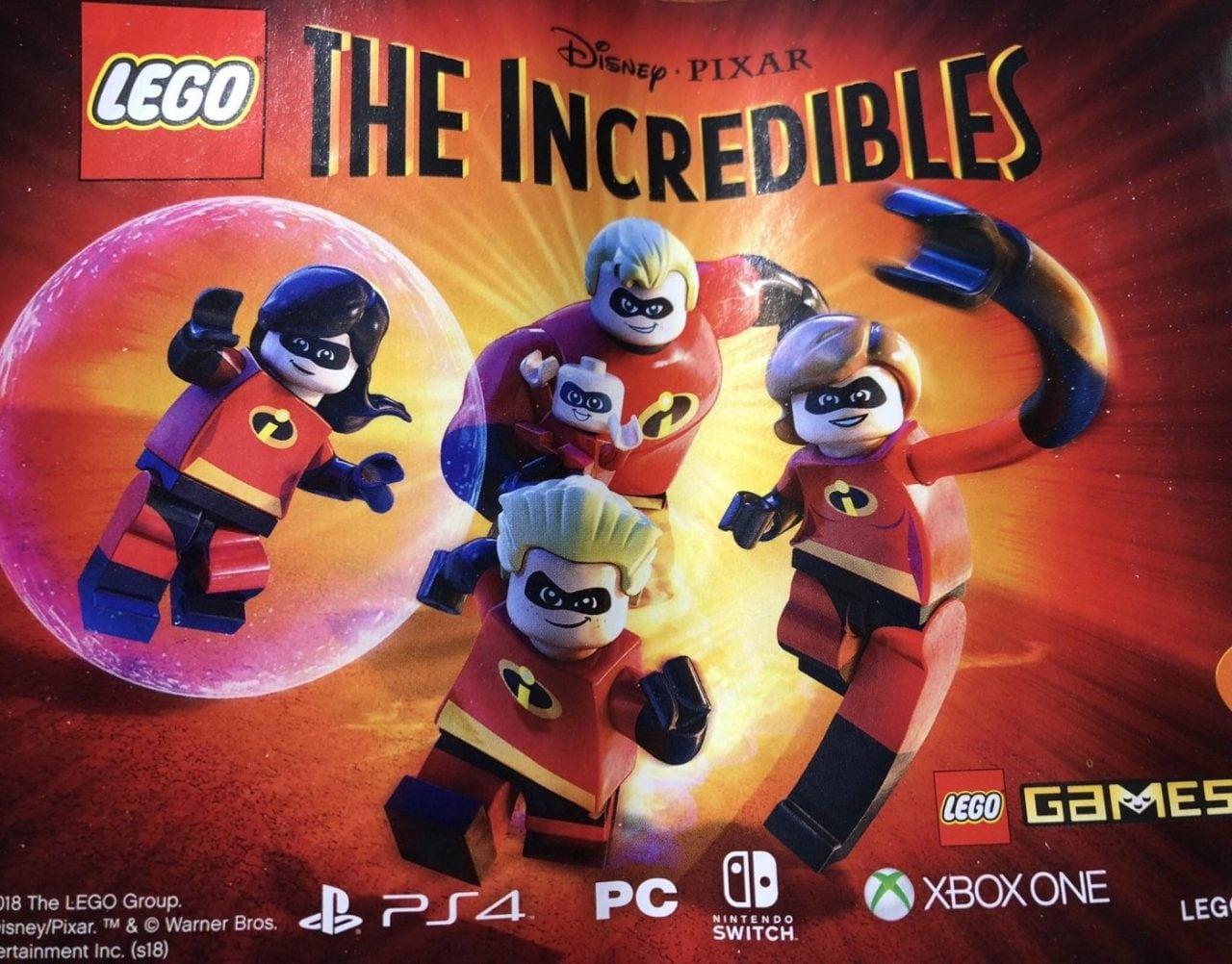 Gli Incredibili diventano LEGO e arrivano sulle vostre console (foto)