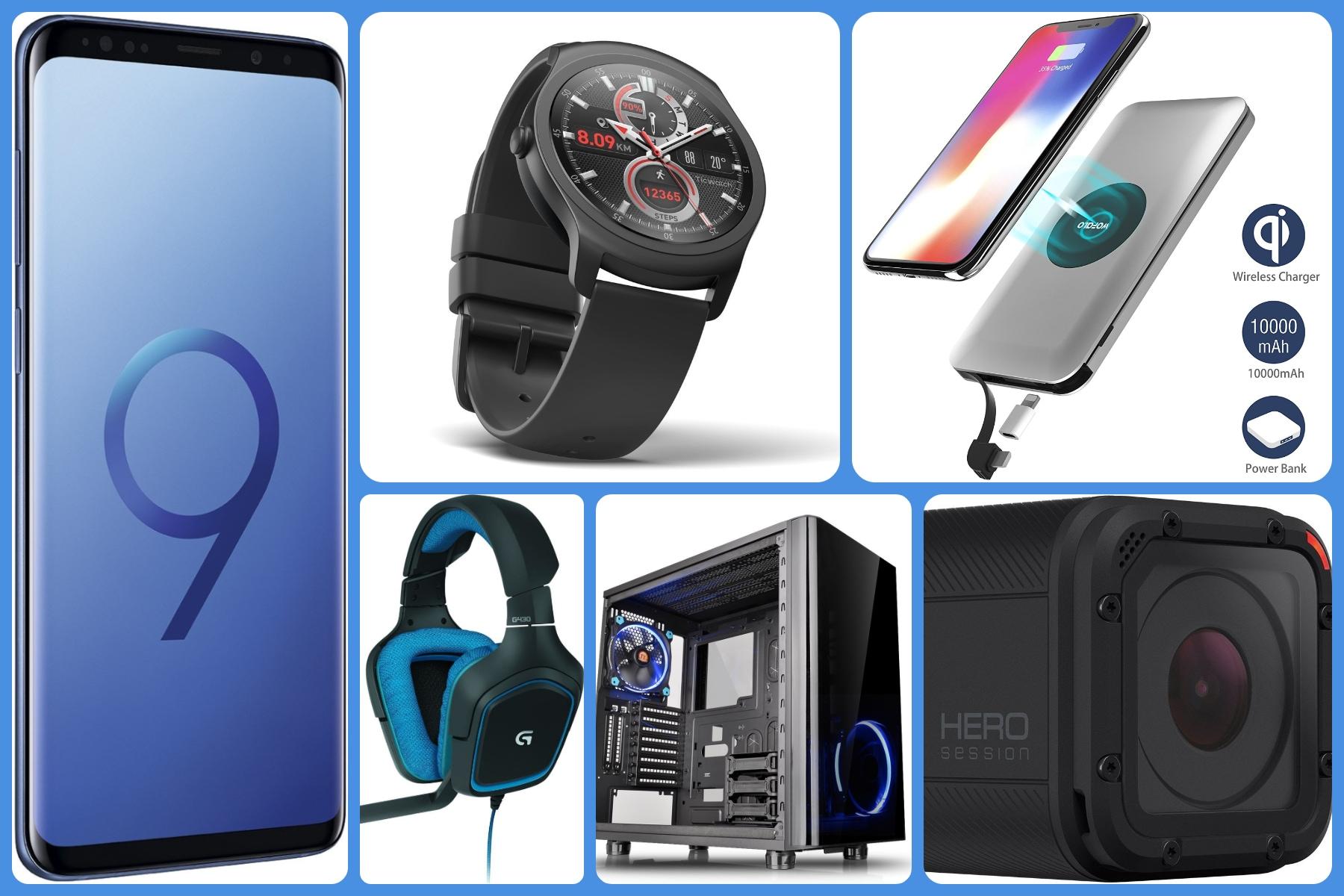 Su Amazon in offerta: Galaxy S9, power bank wireless, Hero Session, cuffie gaming - image migliori-offerte-amazon-22-marzo-2018 on http://www.zxbyte.com