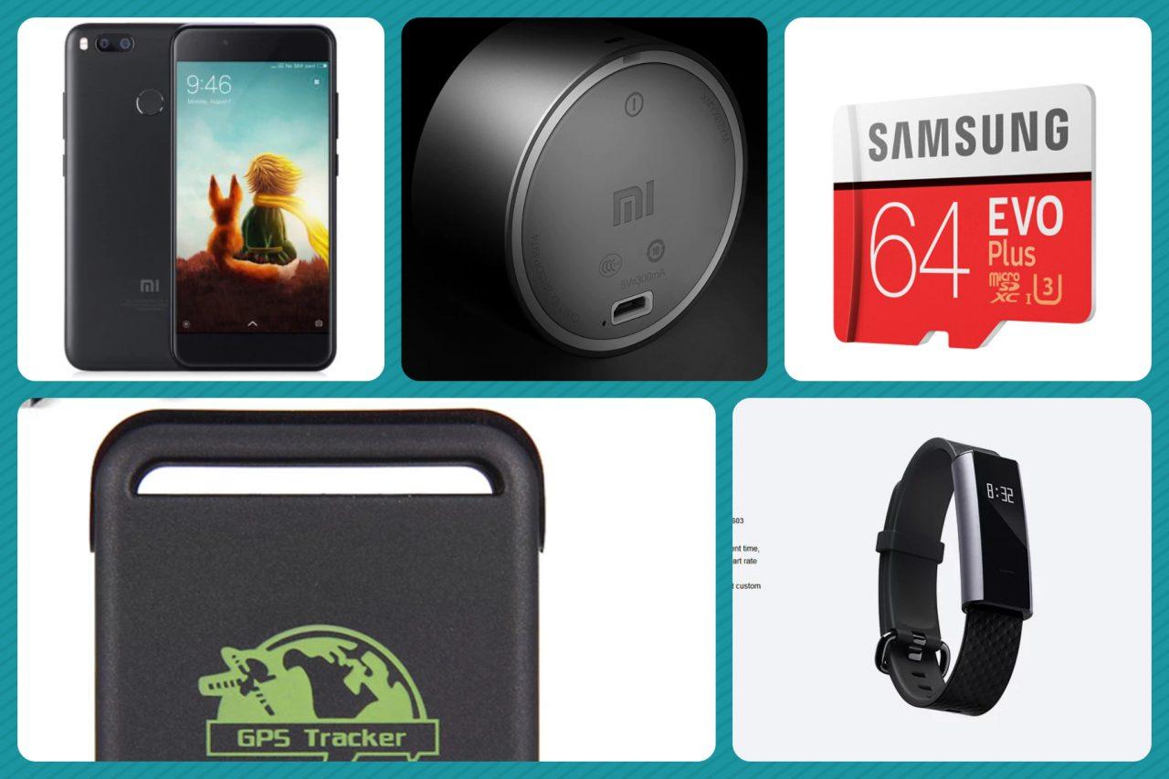 Weekend di offerte GearBest: Mi A1 a 147€, gadget Xiaomi a profusione e tanti low cost