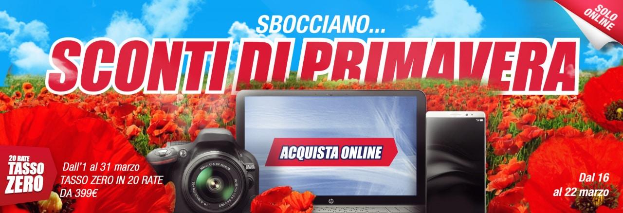 """""""Sconti di primavera"""" online Trony: fino al 22 marzo TV e smartphone (foto)"""