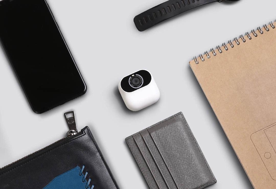 Small Silent AI Camera: intelligenza artificiale, sensore Samsung da 13 MP, 8 GB di memoria integrata in soli 65 grammi (foto)