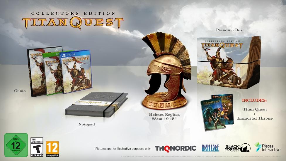 Titan Quest ora disponibile su console! (foto e video)