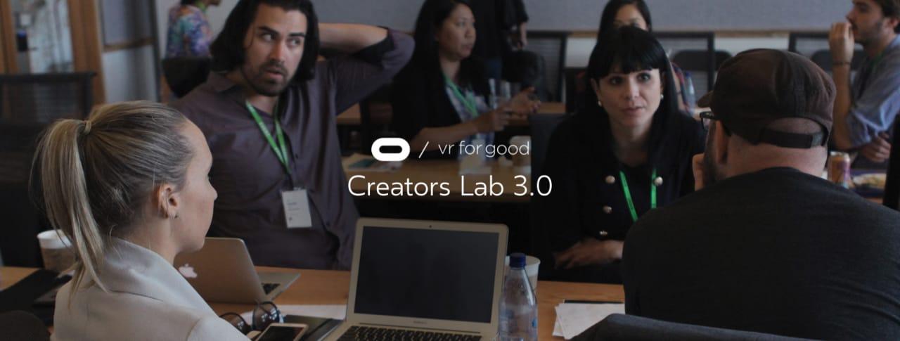 Aperte le candidature per la terza edizione di Creators Lab di Oculus Rift