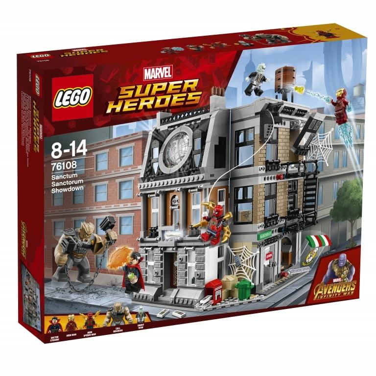 Questi sono i tre nuovi set LEGO dedicati ad Avengers: Infinity War (foto)