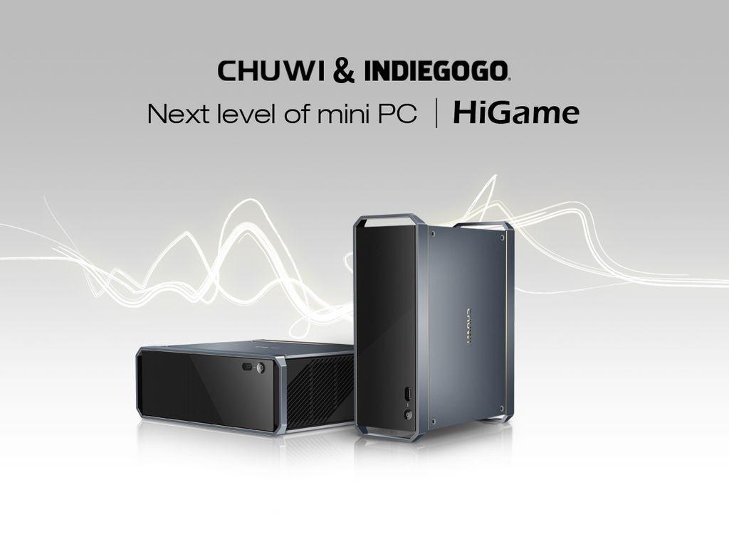 """Altro che tablet e convertibili: Chuwi sta per lanciare una campagna su Indiegogo per un Mini PC """"da gaming"""" (foto)"""
