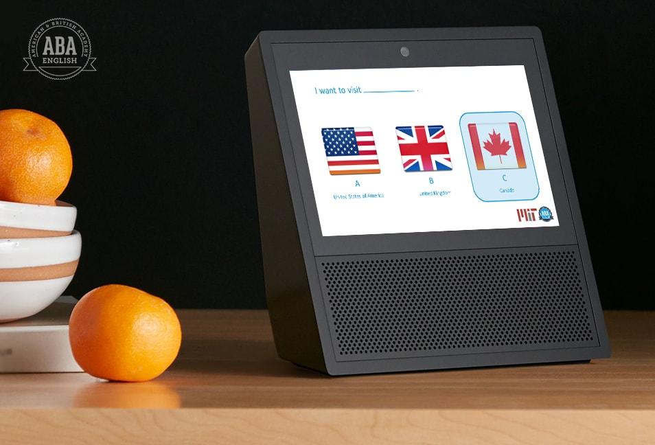 English Test en Alexa Echo Show (1)
