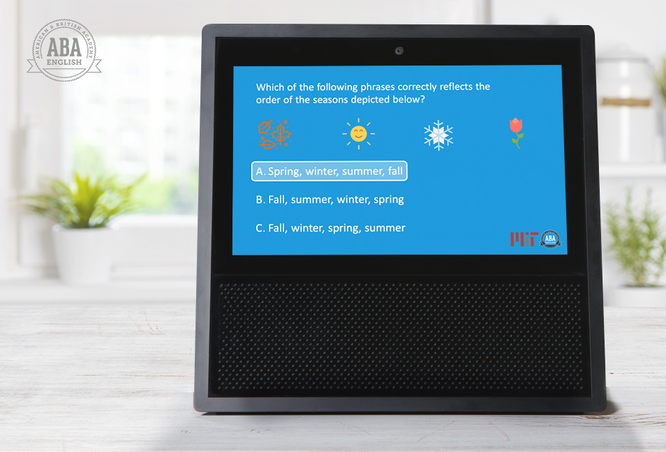 Imparare l'inglese con Amazon Alexa: l'ultimo progetto di ABA English e MIT (video e foto)