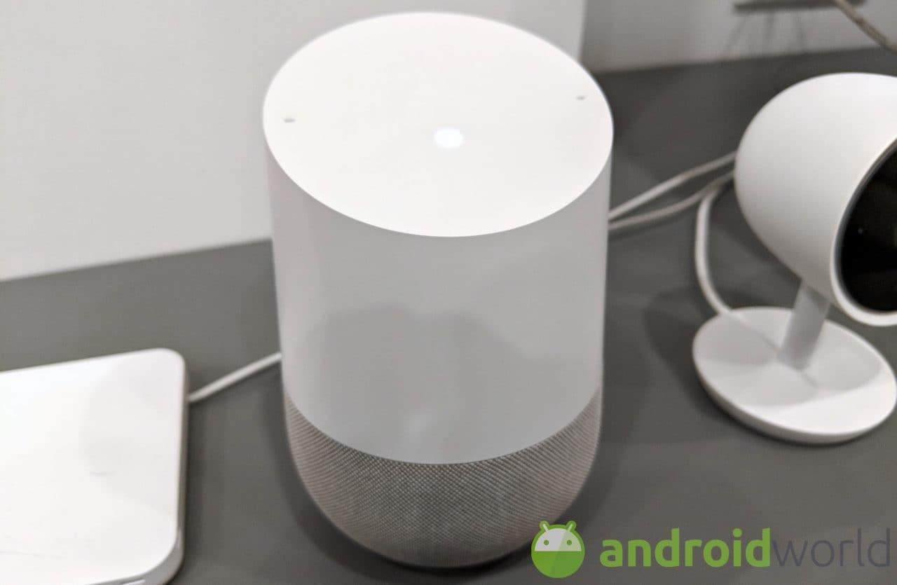 Google Home promemoria