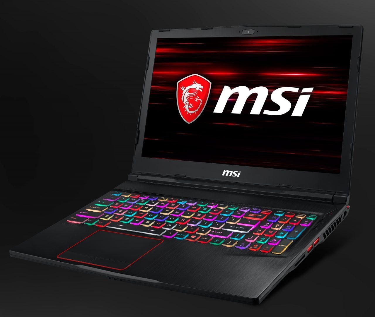 MSI lancia la nuova linea di gaming laptop con processori Intel di 8a generazione (foto)