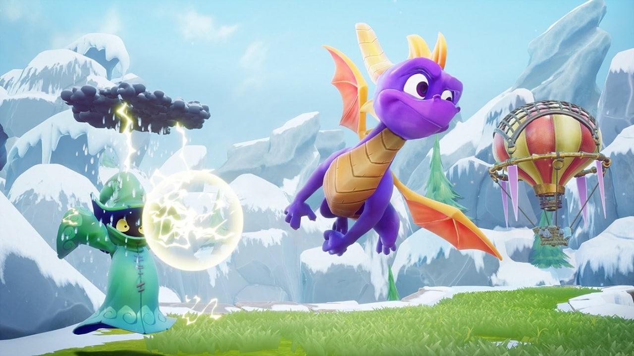 Spyro Reignited Trilogy è ufficiale. Il draghetto viola torna a settembre!