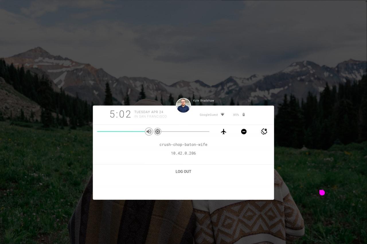 Ecco come sono i primi 5 minuti con Google Fuchsia (foto)