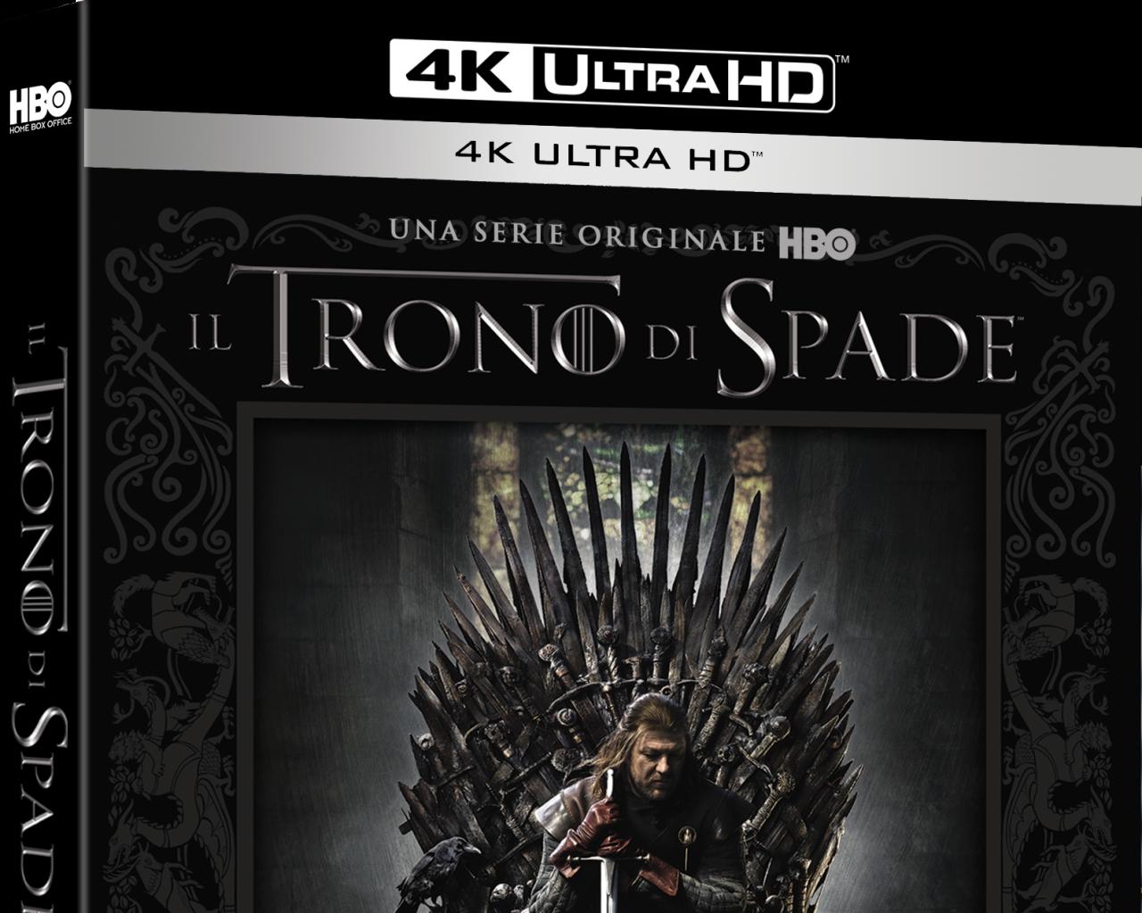 Guardate la prima stagione di Game of Thrones come non l'avete mai vista: in Blu-ray 4K Ultra HD, dal 7 giugno