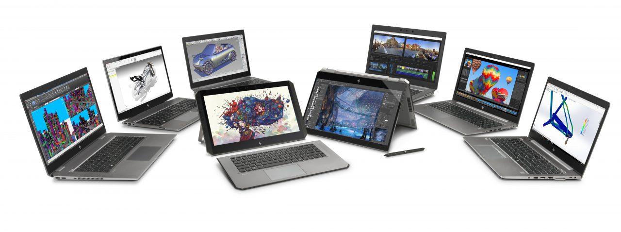 HP ZBook: ecco le nuove workstation portatili, tante e più potenti che mai