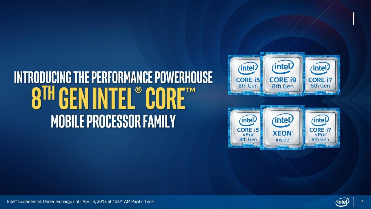 Intel porta i laptop gaming al prossimo livello con i Core i9 di 8a generazione e non solo (foto e video)
