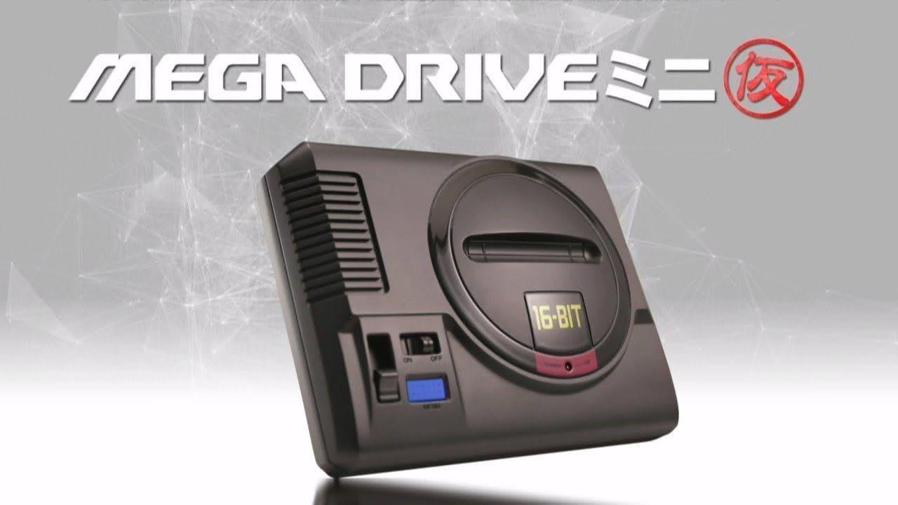 SEGA Mega Drive Mini è posticipato al 2019