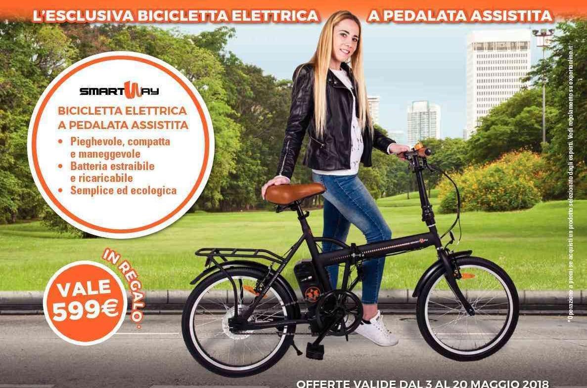 Volantino expert fino al 20 maggio bici elettrica in for Regalo mobile tv