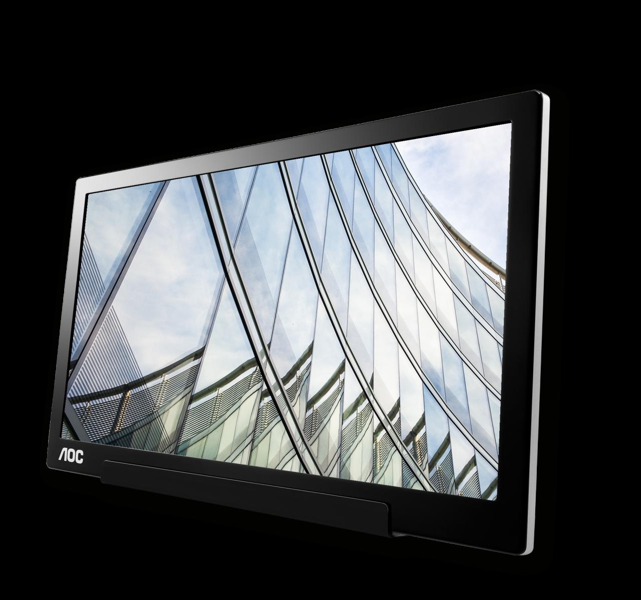 """AOC annuncia il suo nuovo monitor portatile da 15,6"""" dotato di porta USB Tipo C (foto e video)"""