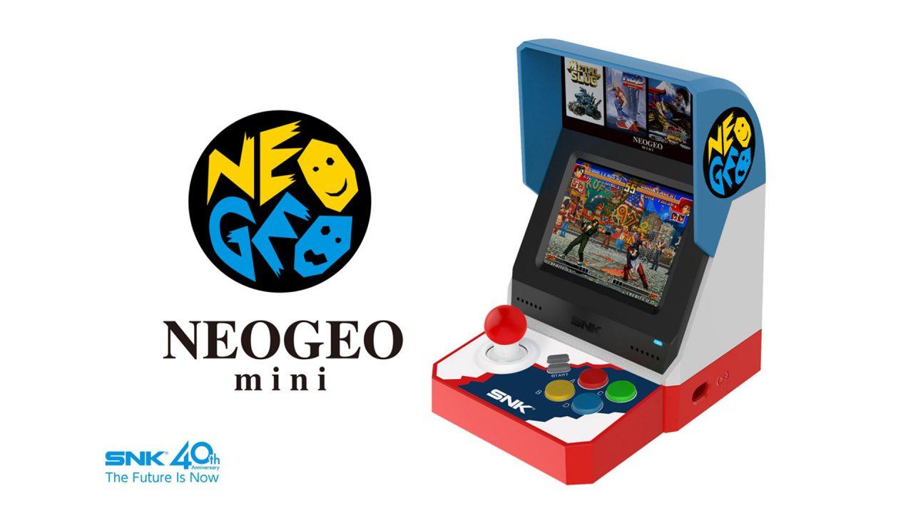 Il nuovo Neo Geo Mini sarà presentato ufficialmente a inizio giugno