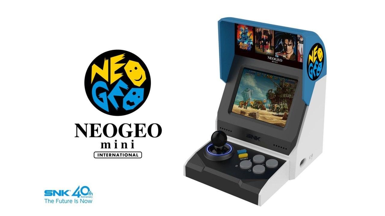 NEO GEO Mini in offerta a 80€: ottimo prezzo per il mini cabinato con 40 giochi inclusi (video)