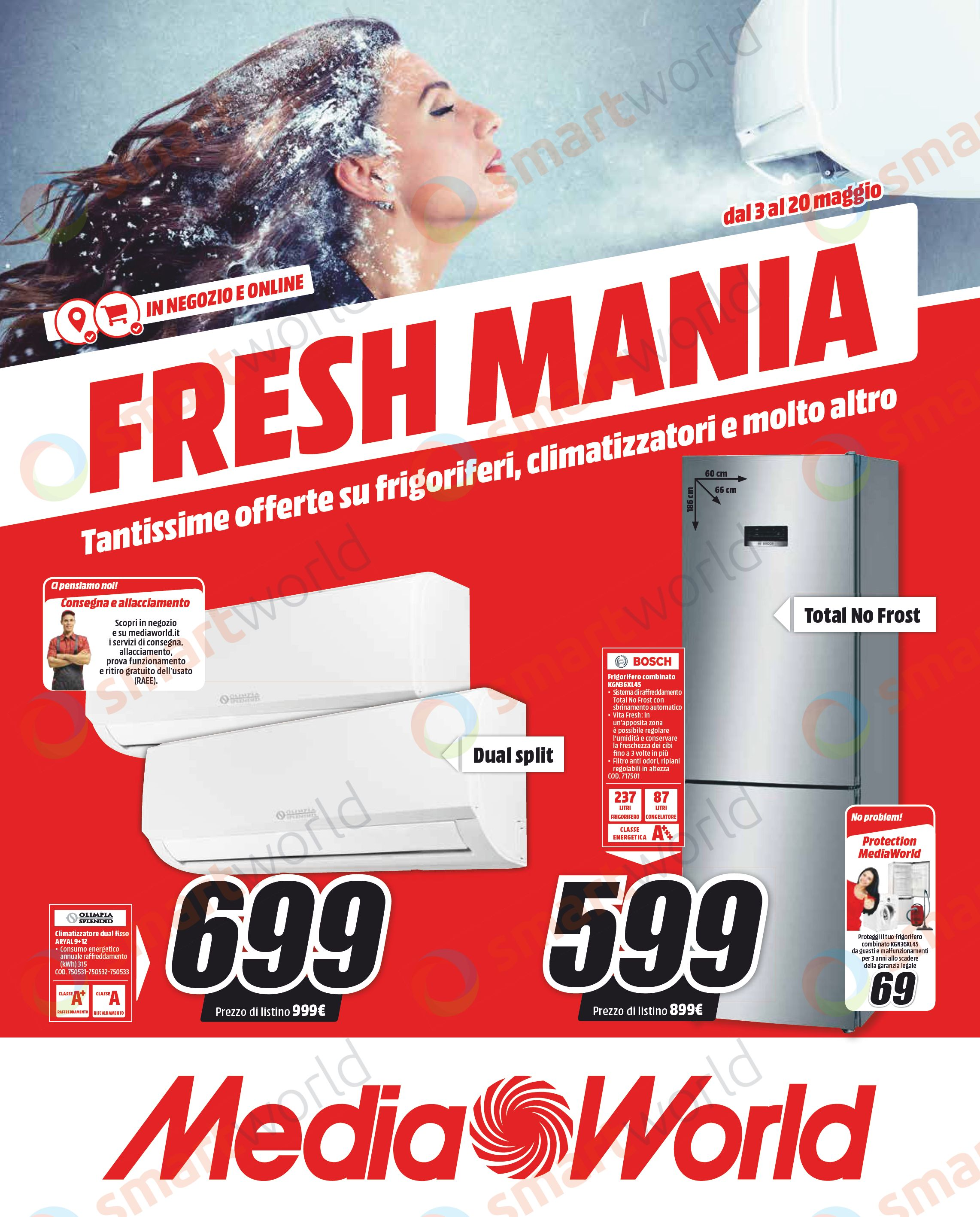 Volantino MediaWorld Fresh Mania maggio 2018 (1)