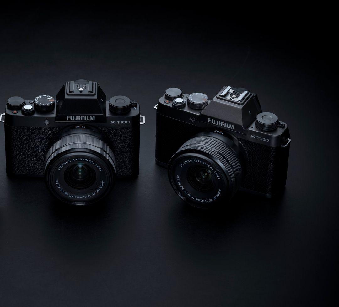 Fujifilm X-T100 ufficiale: nuova mirrorless compatta, dal look rétro, ma con tanta tecnologia (foto)