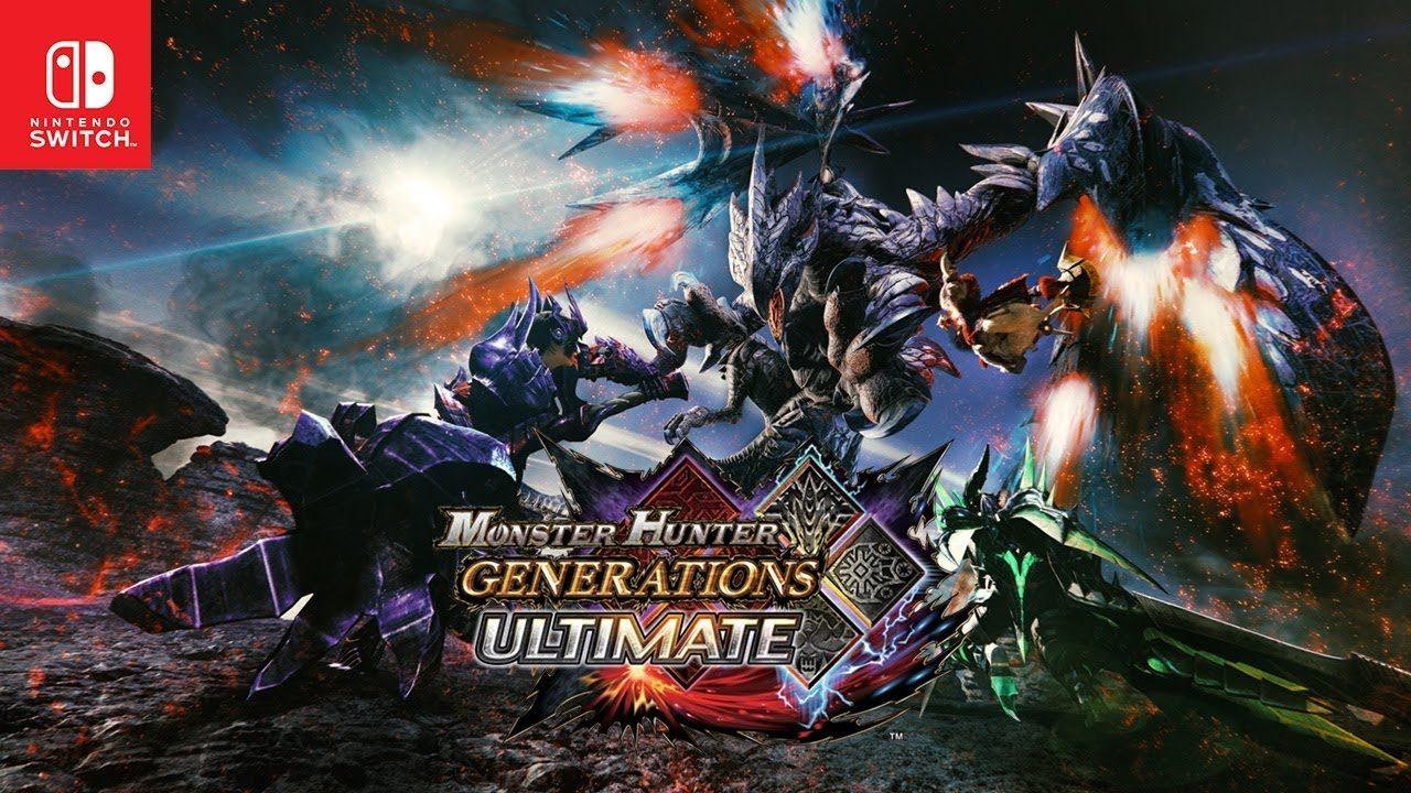 Svelato Monster Hunter Generations Ultimate per Nintendo Switch: in arrivo il 28 agosto! (foto e video)