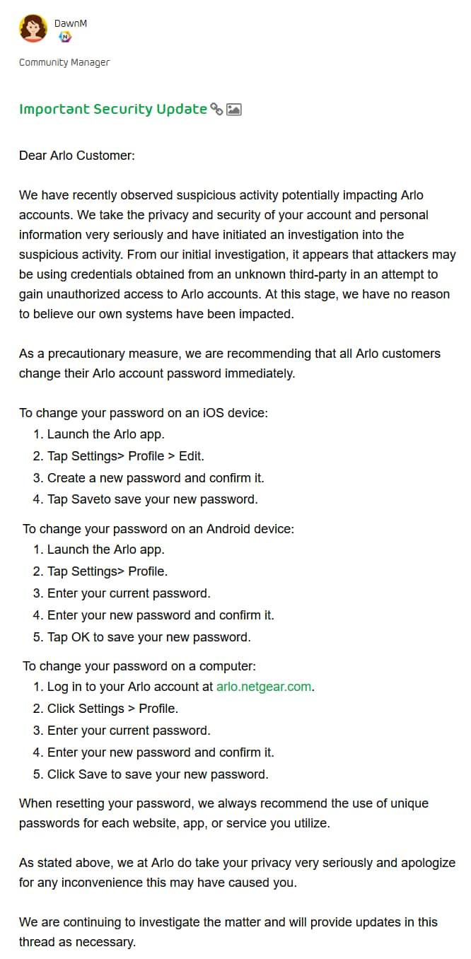 netgear-arlo-cambiare-password