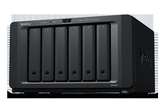 Synology presenta DS1618+: NAS a 6 vani veloce e performante per le piccole e medie aziende (foto)
