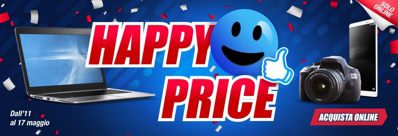 Trony Happy Price: fino al 17 maggio sconti online su PC, smartphone, TV e fotocamere (foto)