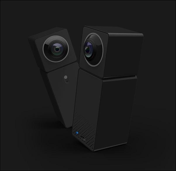 Xiaomi lancia una nuova Smart IP Camera piccola e solida, adatta anche al VR (foto e video)