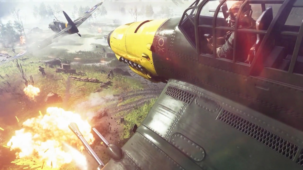 Battlefield V: ancora più distruzione (e Battle Royale), e finalmente un video gameplay!