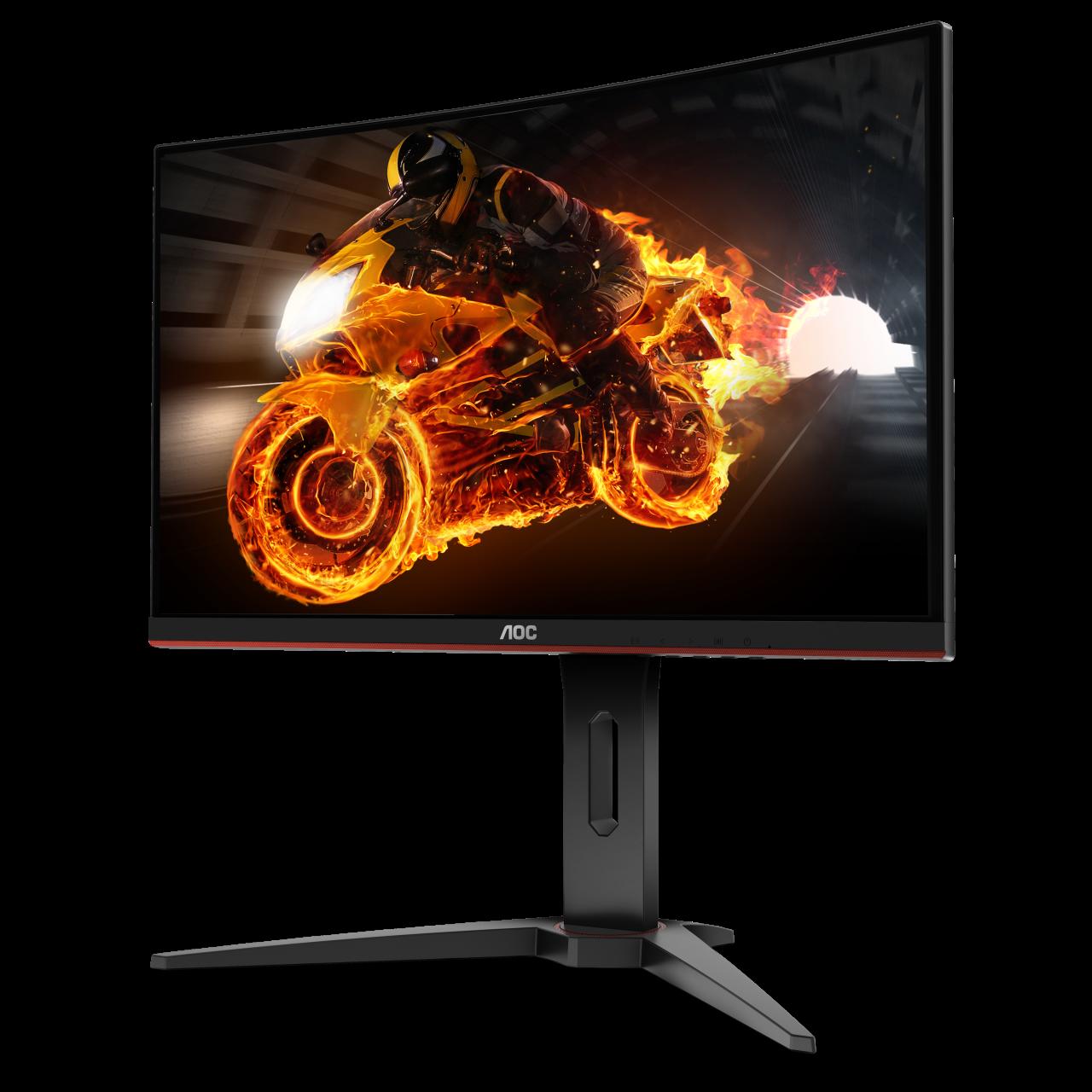 AOC presenta la nuova serie G1: tre monitor curvi dedicati al gaming (foto)