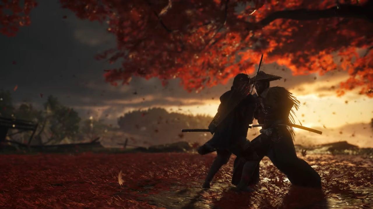 Il primo gameplay di Ghost of Tsushima è splendido