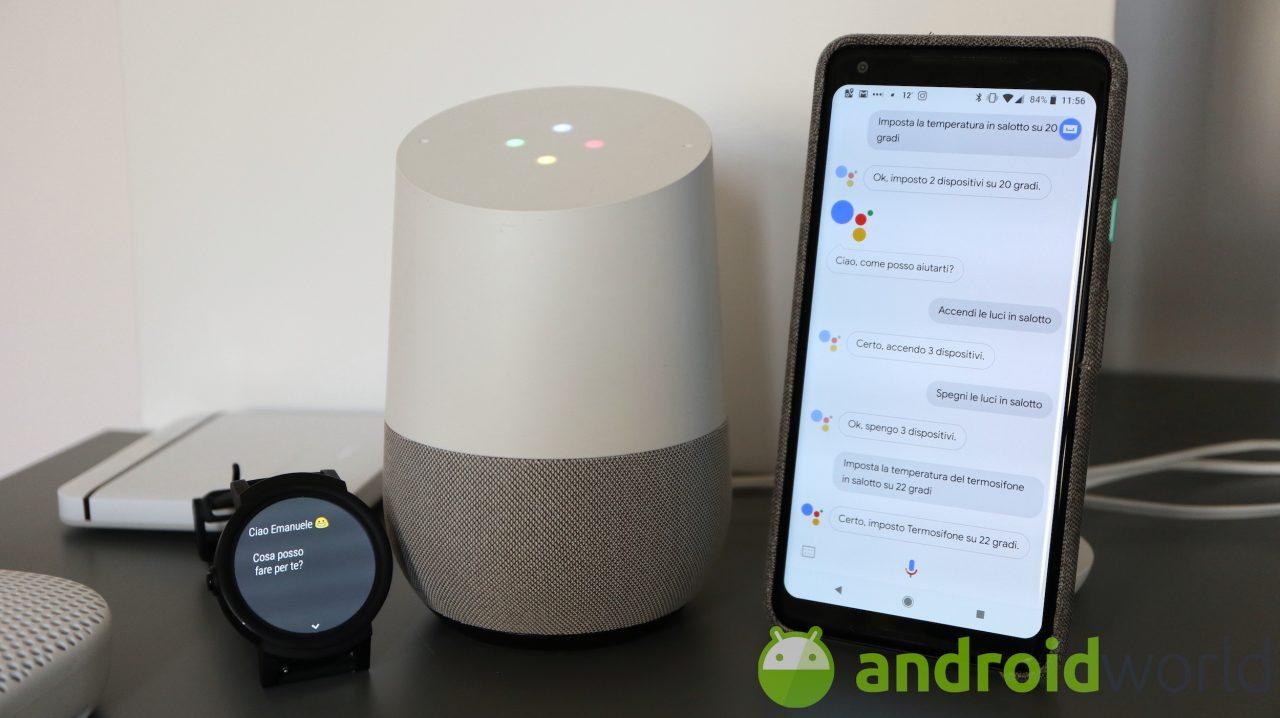 Tanti Google Assistant nello stesso luogo, allo stesso momento: ecco il supporto multilingue (video)