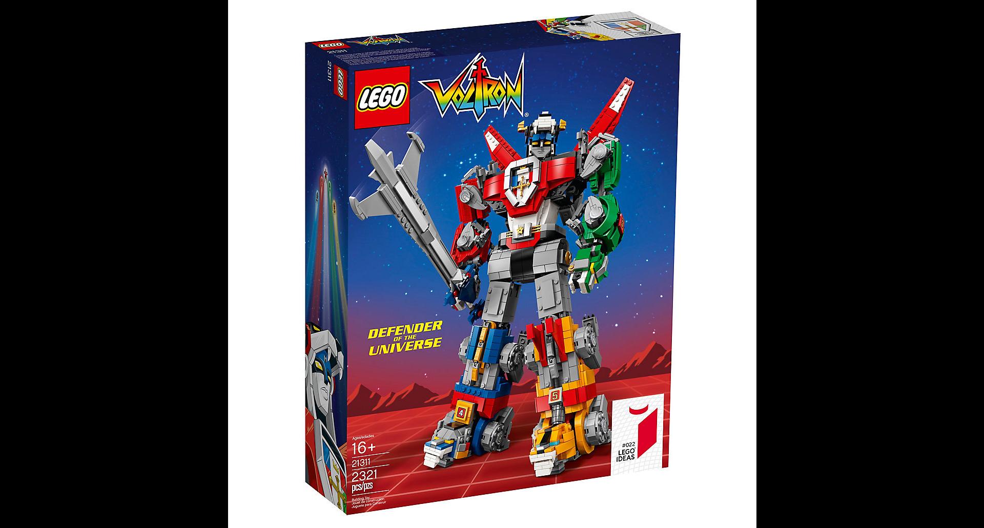 LEGO Ideas Voltron (1)
