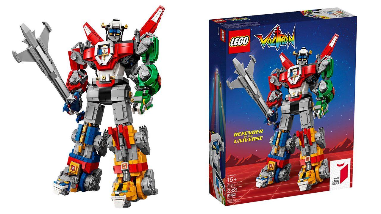 Il nuovo set LEGO Ideas è Voltron: costa un sacco, ma è bellissimo (foto)