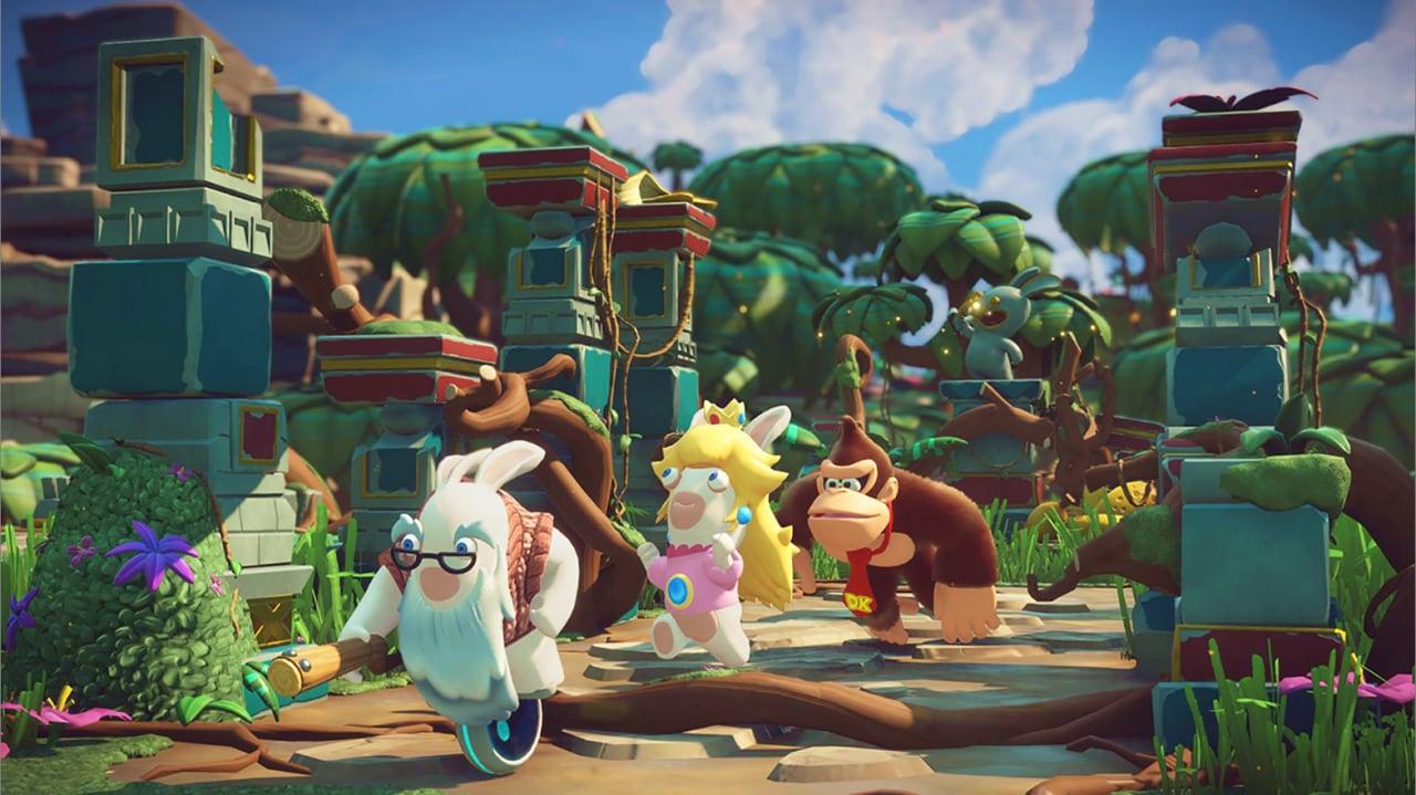 Più siamo meglio stiamo: Donkey Kong entra a far parte del mondo di Mario + Rabbids Kingdom Battle (foto e video)