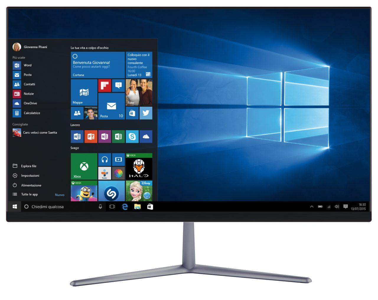 PC All-in-One con poca spesa? Ecco i nuovi Mediacom All in One 212 e 241 (foto)